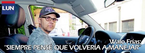 """LUN – Walo Frías: """"Siempre pensé que volvería a manejar"""" El locutor de Rock&Ruedas se subió a un Renault Koleos"""