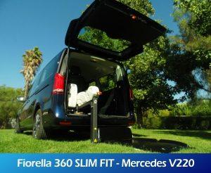 GaleriaRollerMobility - Fiorella 360 SLIM FIT - Mercedes V220