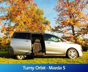GaleriaRollerMobility - Turny Orbit - Mazda 5