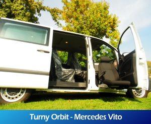 GaleriaRollerMobility - Turny Orbit - Mercedes Vito
