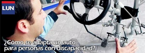 LUN ¿Cómo se adapta un auto para personas con discapacidad?