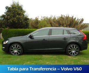 Galeria RollerMobility - Tabla para transferencia - Volvo V60