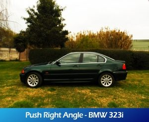 GaleriaRollerMobility - Push Right Angle - BMW 323i