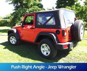 GaleriaRollerMobility - Push Right Angle - Jeep Wrangler