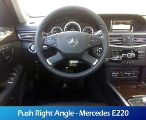 GaleriaRollerMobility - Push Right Angle - Mercedes E220