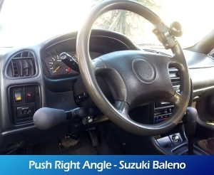 GaleriaRollerMobility - Push Right Angle - Suzuki Baleno