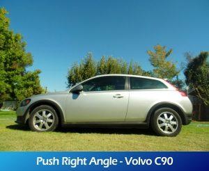 GaleriaRollerMobility - Push Right Angle - Volvo C90