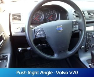 GaleriaRollerMobility - Push Right Angle - Volvo V70